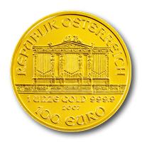 Bécsi Filharmonikusok aranyérme 1 uncia