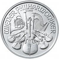 Bécsi Filharmonikusok befektetési ezüstérme 1 uncia