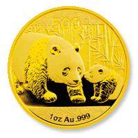 Panda befektetési aranyérme 1 uncia