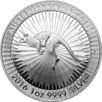 Kenguru befektetési ezüstérme 1 uncia különbözeti áfás
