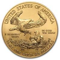 American Eagle befektetési aranyérme 1/2 uncia