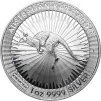 Ausztrál Kenguru ezüstérme 1 uncia különbözeti áfás, vegyes évjárat