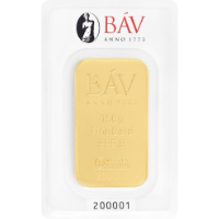 Argor-BÁV 100 gramm aranylapka