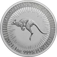 Kenguru platina érme 1 uncia
