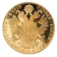 4 dukát osztrák befektetési aranyérme