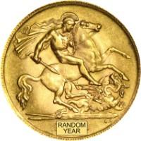 Brit Sovereign 7.32 gramm befektetési aranyérme
