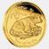 Bivaly éve 2009 befektetési aranyérme 1 uncia