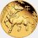 Ökör éve 2021 befektetési aranyérme 1 uncia