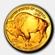 American Buffalo befektetési aranyérme 1 uncia
