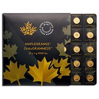 Maple Leaf  befektetési aranyérme 25 gramm