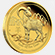 Kecske éve 2015 befektetési aranyérme 1 uncia