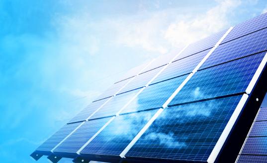Napelem panelek - a fotovoltaikus cellák iránti igény növelheti az ezüst keresletét.