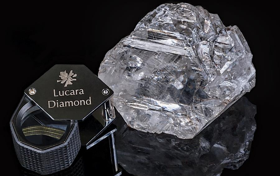 A Lesedi La Rona gyémántot Botswana-ban hozták felszínre