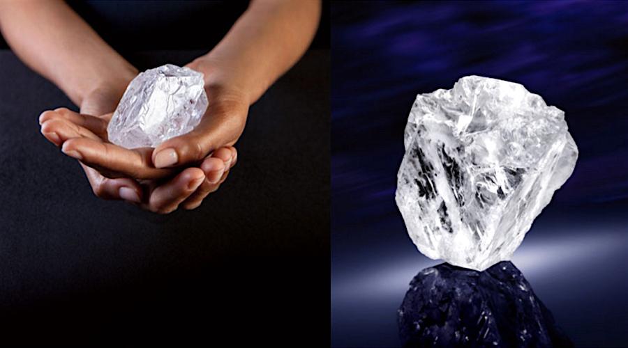 A Lesedi la Rona gyémánt, amit 70 millió dollárért kiáltanak ki a Sotheby's aukcióján