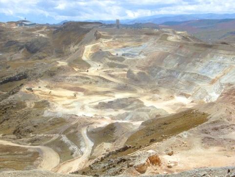 A perui Yanacocha aranybánya. Forrás: commons.wikimedia.org, Conclude Zrt.