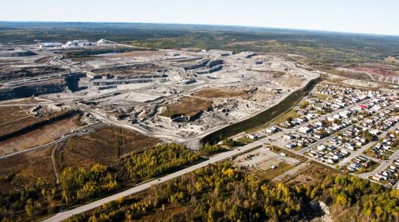 A Malartic aranybánya a kanadai Quebecben. Forrás: www.osisko.com, Conclude Zrt.