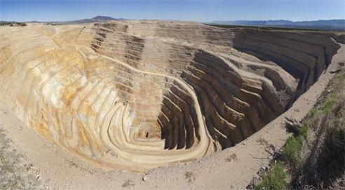 A Barrick nevadai aranykitermelésének helyszíne. Forrás: blogs.rgj.com, Conclude Zrt.