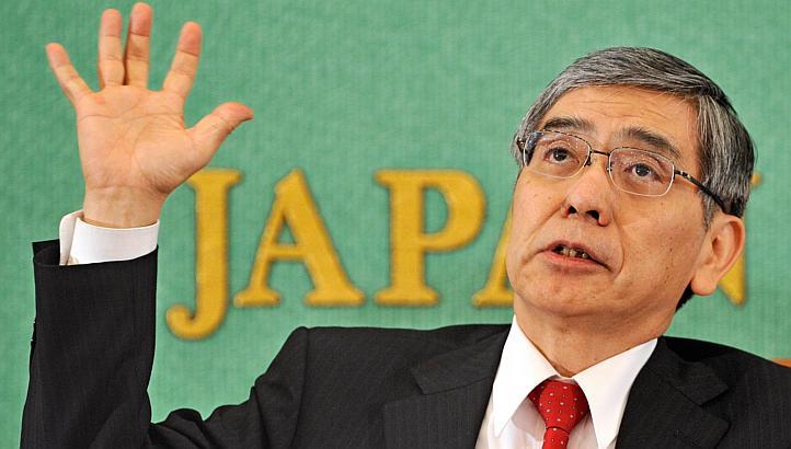 Haruhiko Kuroda, a Bank of Japan új elnöke. Forrás: www.straitstimes.com, Conclude Zrt.