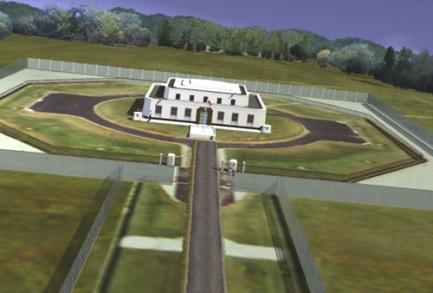 A Fort Knox-i aranytároló. Forrás: coolinterestingstuff.org, Conclude