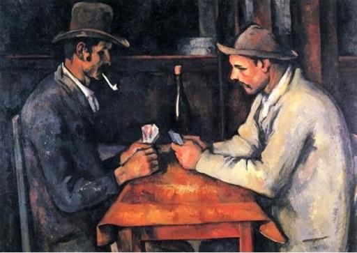 Paul Cézanne: Kártyajátékosok. Forrás: cultura.hu, Conclude Zrt.