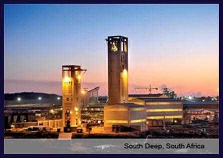 2. South Deep, Johannesburg, Dél-Afrika: 81,4 millió uncia; Forrás: goldminersreport.com, Conclude Zrt.
