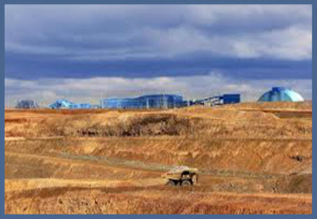 6. Oyu Tolgoi, Góbi sivatag, Mongólia: 46,3 millió uncia; Forrás: goldminersreport.com, Conclude Zrt.