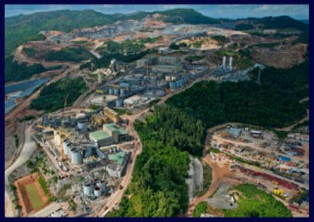 7. Pueblo Viejo, Dominikai Köztársaság, 40,1 millió uncia; Forrás: goldminersreport.com, Conclude Zrt.