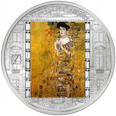 Cook-szigetek 2012  20 dollár        Mesterművek -  Gustav Klimt - Adlele