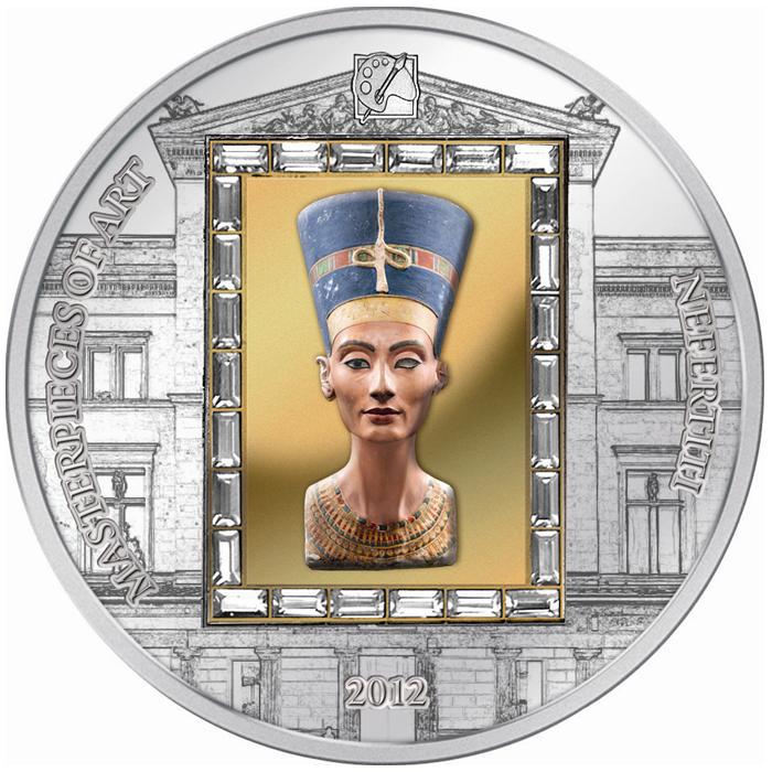 Cook-szigetek 2012  20 dollár        Mesterművek -  Nefertiti