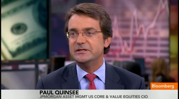Paul Quinsee. Forrás: Bloomberg, Conclude Zrt.
