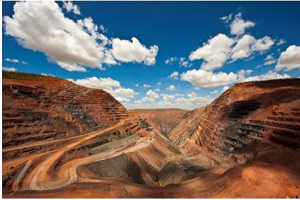 Az Argyle ausztráliai gyémántbányája. Forrás: Rio Tinto, Conclude Zrt.