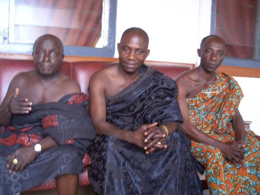 Egyeztetés a bányanyitásról a falu vezetőivel