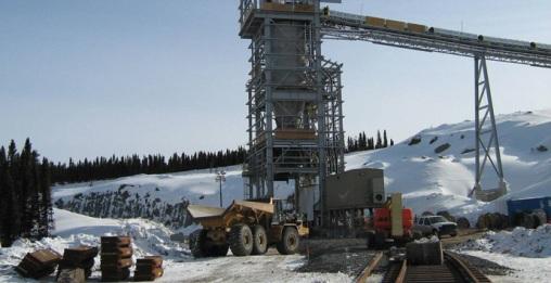 A Bloom Lake vasércbánya Québecben. Forrás: aecom.com, Conclude Zrt.