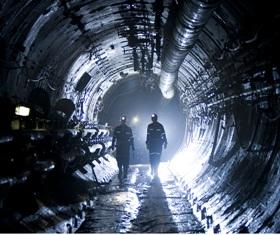 A Cigar Lake urániumbányában. Forrás: world-nuclear-news.org, Conclude Zrt.