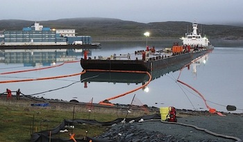 A Newmont Mining Company Hope Bay nevű projektje a kanadai Nunavutban. Forrás: nunatsiaqonline.ca, Conclude Zrt.