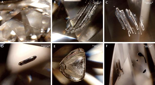 Laboratóriumban előállított szintetikus vagy növesztett gyémántok. Forrás: Gemological Institute of America Inc., Conclude Zrt.