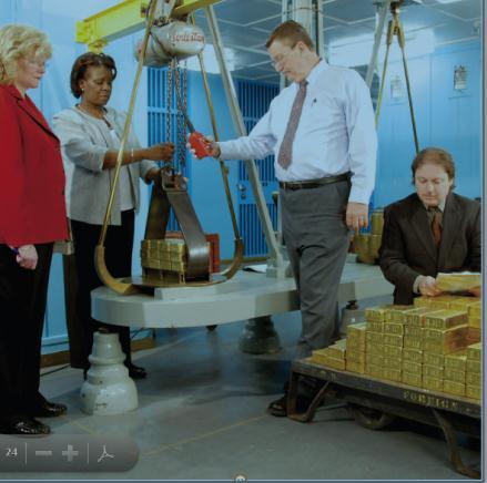 hidraulikus lift a Good Delivery tömbök mozgatásához a FED-ben, Conclude Zrt.