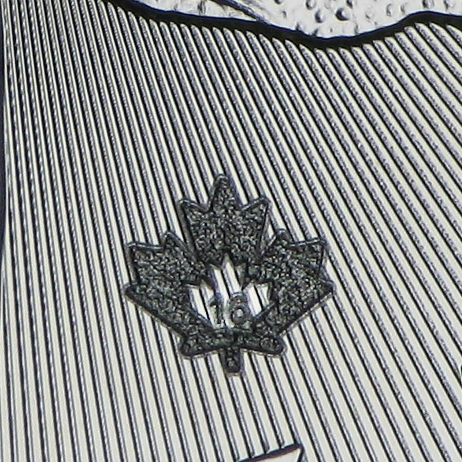 2021 Maple Leaf ezüstérme 1 uncia különbözeti áfás