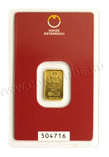 Aranylapka 2 gramm