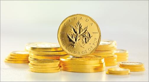 Maple Leaf befektetési aranyérme 1 uncia