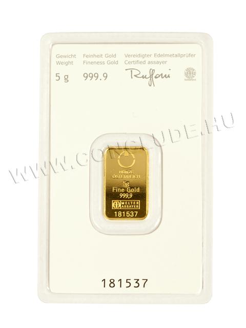 Aranylapka 5 gramm