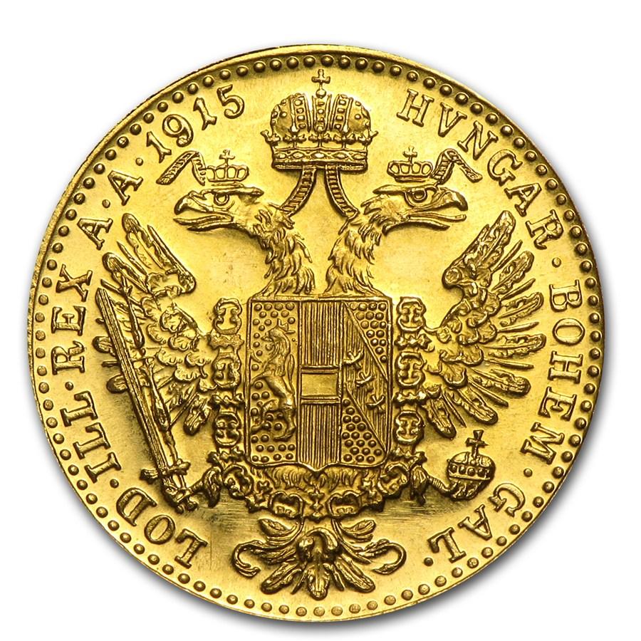 1 dukát osztrák befektetési aranyérme