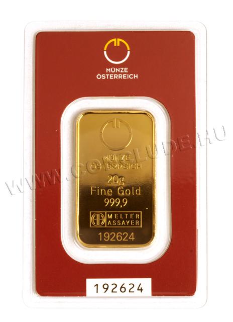 Aranylapka 20 gramm