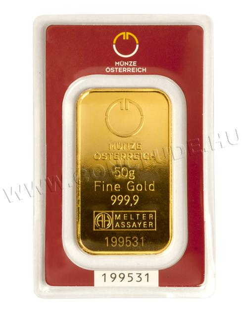 Aranylapka 50 gramm