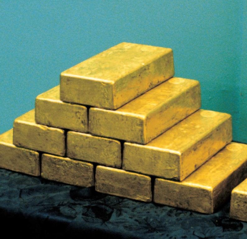 Mintegy  200 millió uncia, azaz 6400 tonna aranyat rejtenek a New York-i Fed páncéltermei. Conclude Zrt.