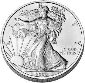 Az American Silver Eagle Coin. Forrás: houstongoldmerchants.com, Conclude Zrt.