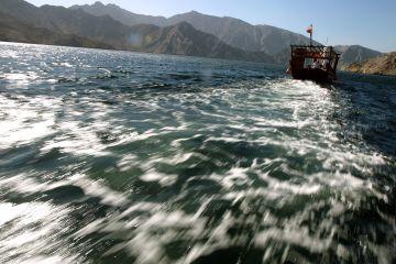 Iráni hajó a hormuzi szorosban.  Forrás: globalpost.com, Conclude Zrt.