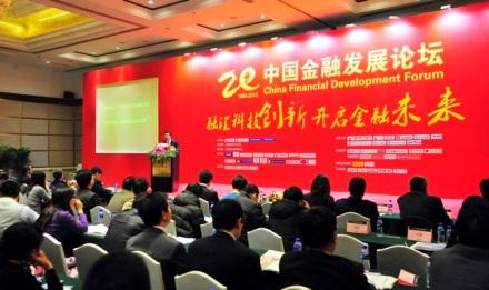 A kínai Pénzügyi Fejlesztési Fórum résztvevői. Forrás CNG.; Conclude Zrt.