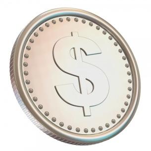 Ilyen lenne a 1ezermilliárd dollár értékű platinaérme? Forrás: aei-ideas.org, Conclude Zrt.