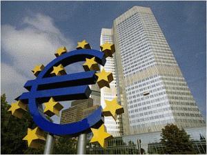Az Európai Központi Bank épülete Frankfurtban. Forrás: www.channelstv.com, Conclude Zrt.